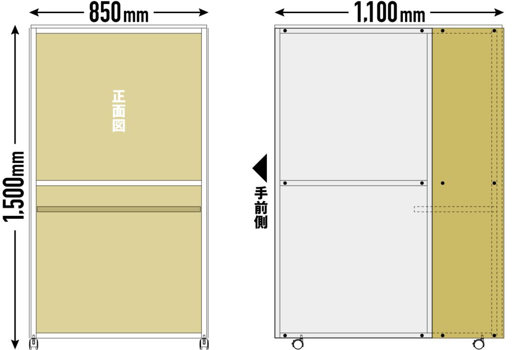 R-BOXのサイズ